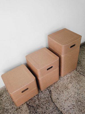 Box-chairs detail